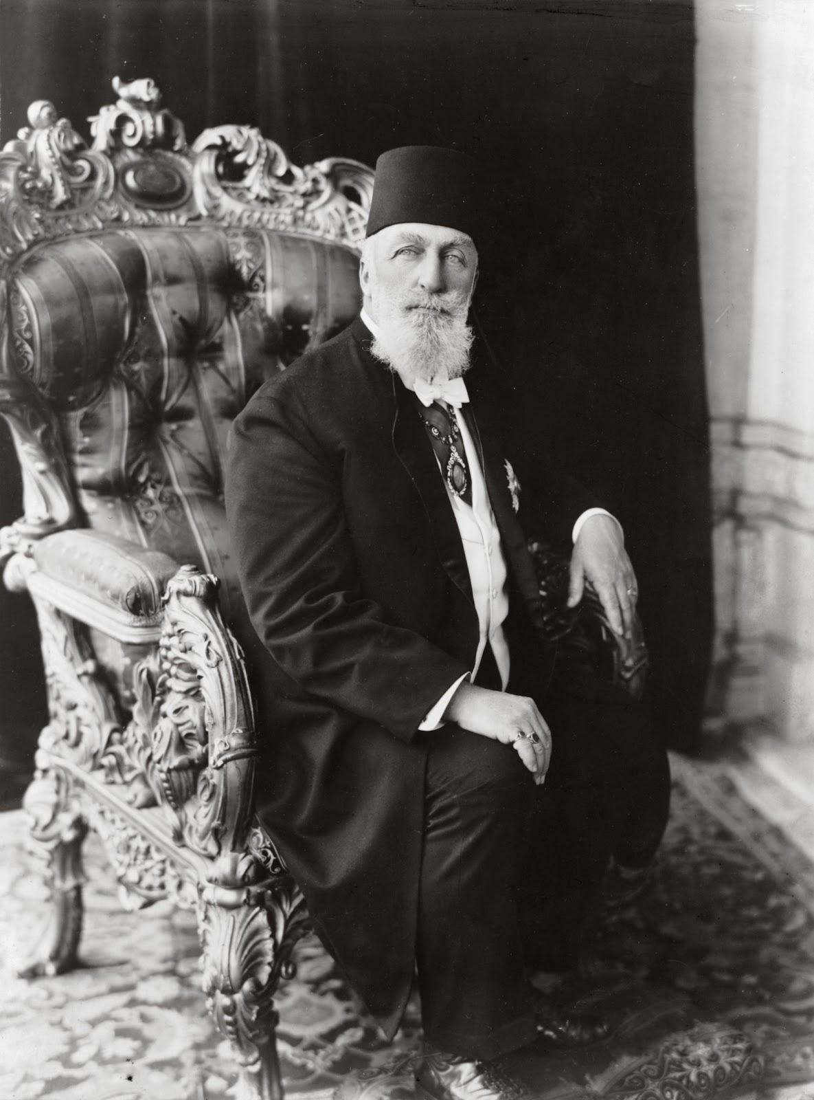 URS of Sultan Abdul Hamid II - last Capliph of Islam - last Otto